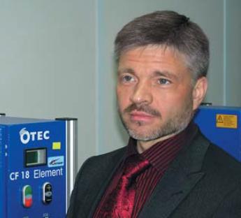 Директор центра финишных технологий Милованов Валерий Николаевич
